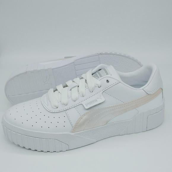 Puma Shoes   Puma Cali Sneakers White
